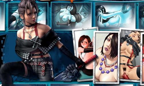 Final Fantasy porn 3d videoclip