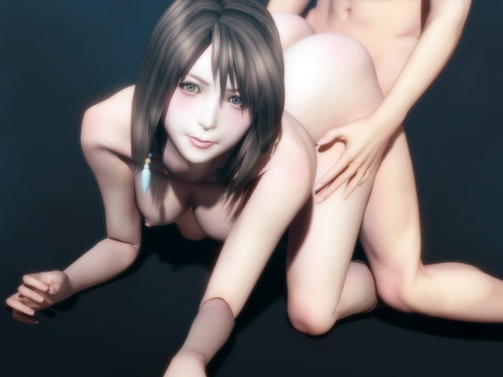 Final Fantasy porn of Yuna
